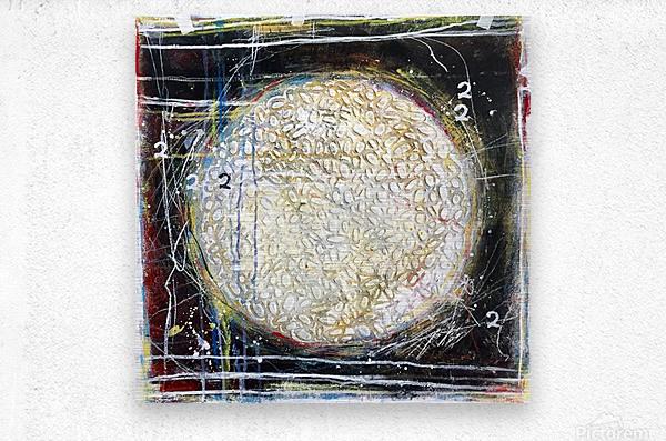 cercle de vie 1  Impression metal