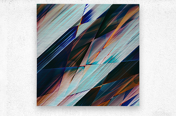 Abstract Composition 426  Metal print
