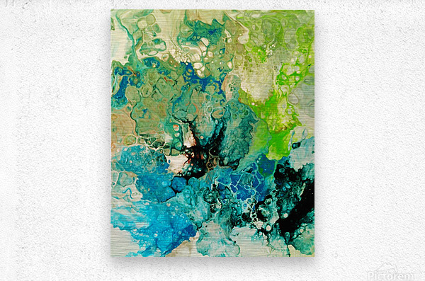 Abstract Composition 754  Metal print