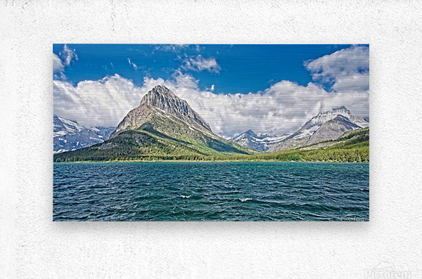 Mount Grinnell  Metal print