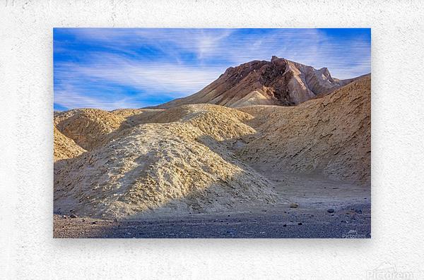 Badlands of Death Valley  Metal print