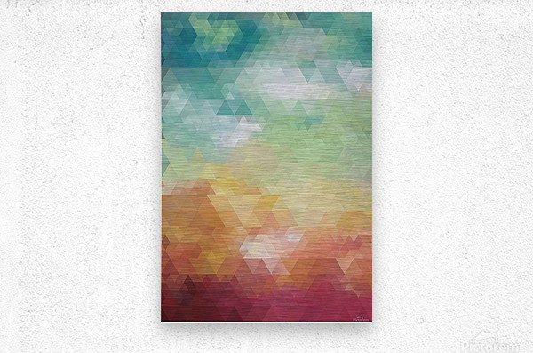 Abstract Composition 550  Metal print