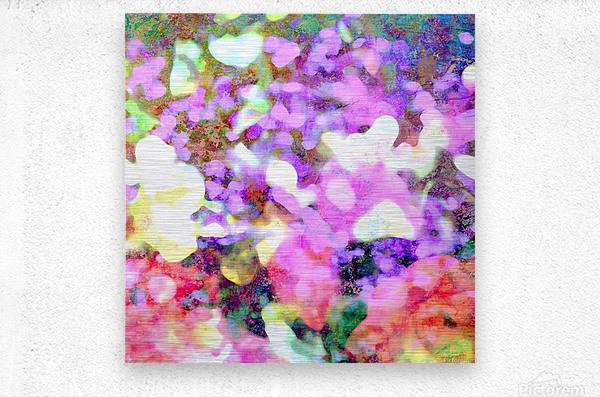 Petals on the Breeze  Metal print