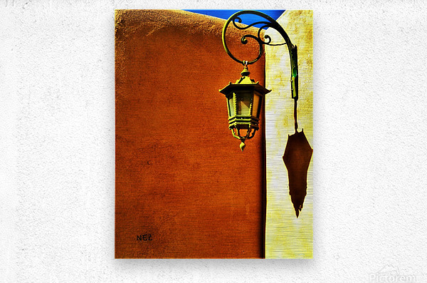 Lantern Shadow  Metal print