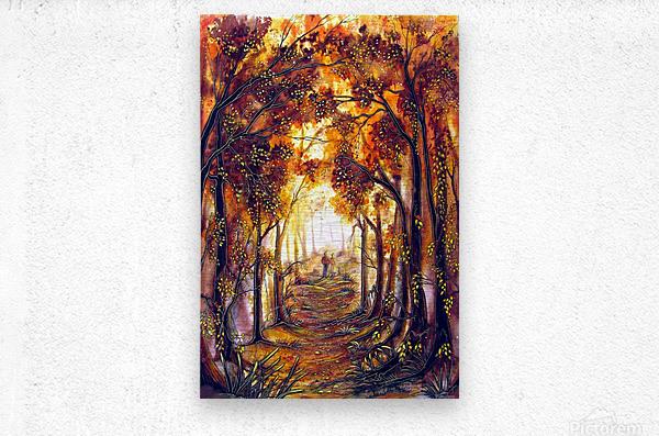 Autumn Memories  Metal print