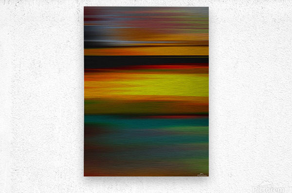Abstract Landscape 6  Metal print