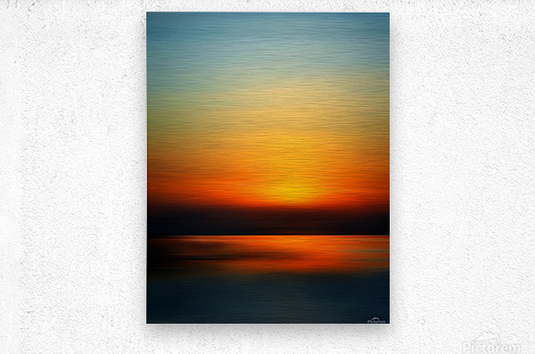 Abstract Landscape 9  Metal print