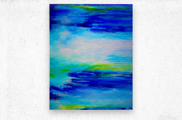 Abstract Landscape 11  Metal print