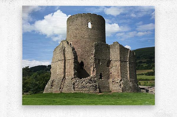Treetower-Castle-Wales-1  Metal print