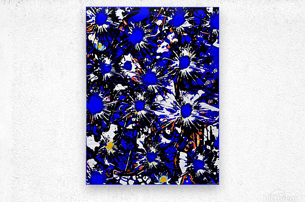 A Cluster of Emotions  Metal print