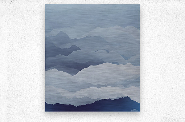 Beautiful Mountains  Metal print