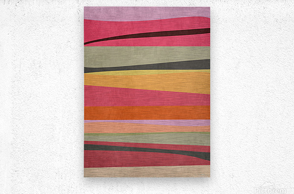 Abstract Composition 776  Metal print