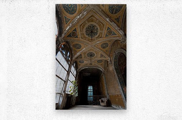 Abandoned Chateau FairyTale  Metal print