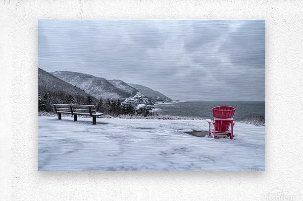 Winter in the CBHNP  Metal print