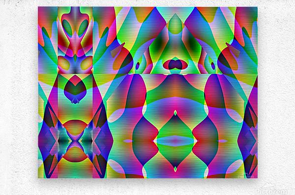 A.P.Polo - Alien  Metal print
