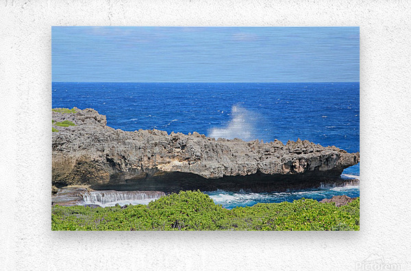 Rocky Ledge  Metal print