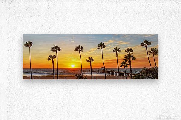 Kalifornikation  Metal print