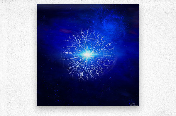Pure Energy  Metal print