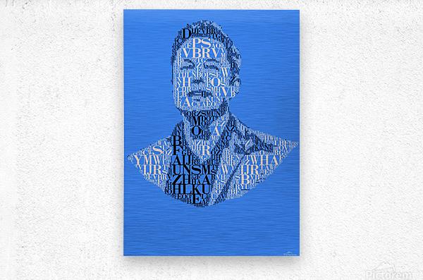 Elon Musk  Metal print