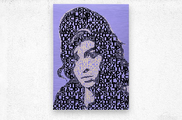 Amy Winehouse2  Metal print