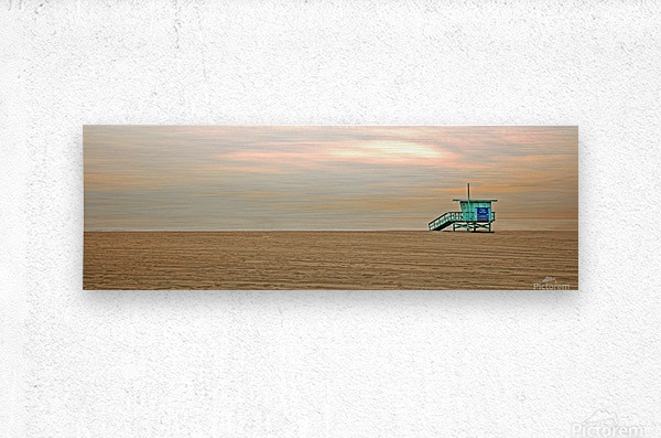 Beachbum blues  Metal print