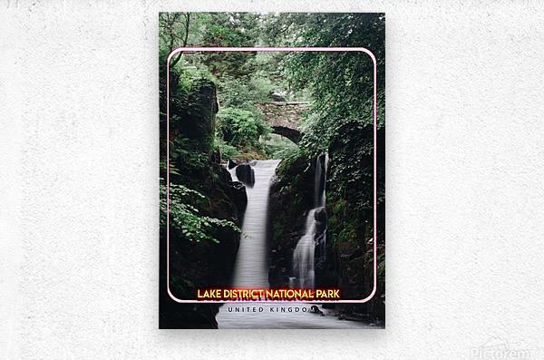 Lake District National Park, United Kingdom  Metal print
