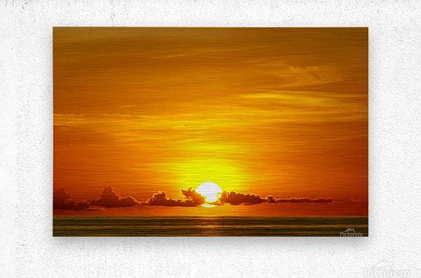 Cayman Sky Art  Metal print