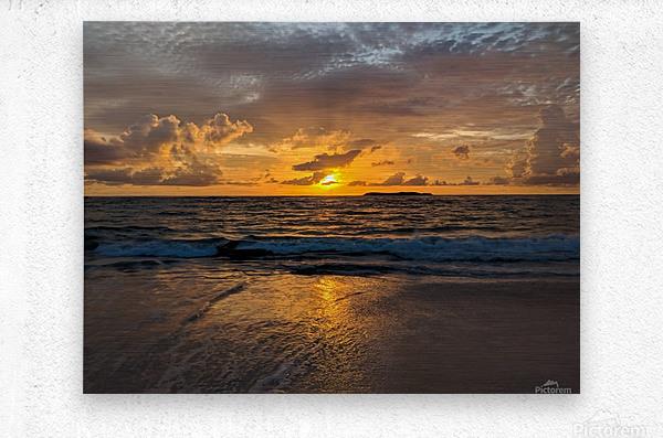 Eleuthera Sunrise  Metal print