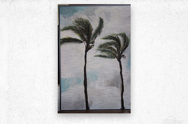 Palms  Impression metal
