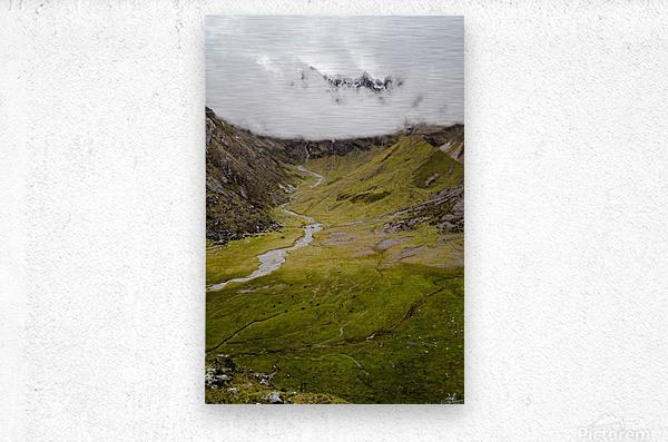Cusco Valley  Metal print