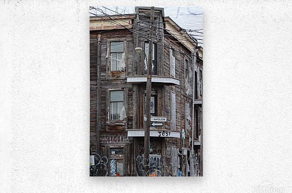 Corner Coloniale and Napoleon - 2018  Metal print