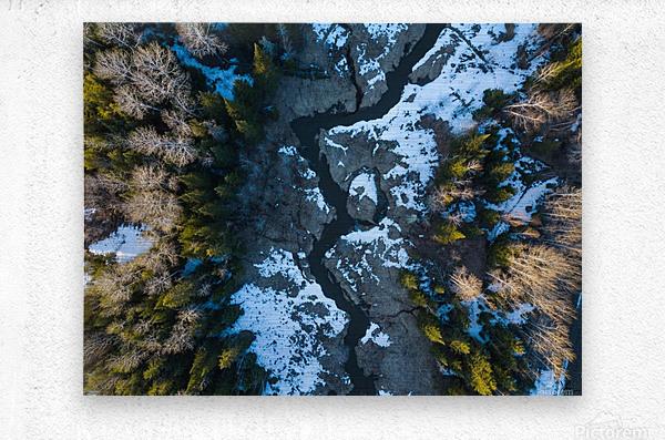Ontario River  Metal print