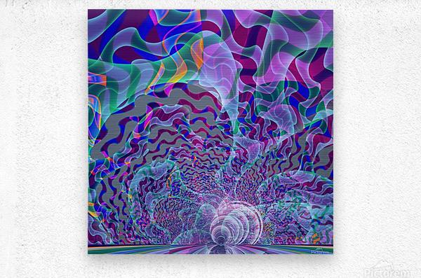 Digital_Tornado_Take_3  Metal print
