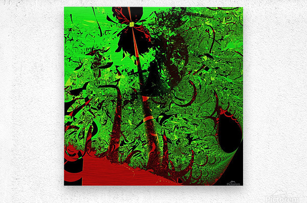Digital_Tornado_Take_4  Metal print