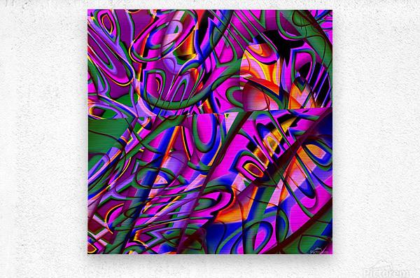 Jazz_Fusion_Series_3  Metal print
