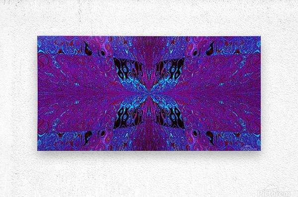 Butterfly in Crystal 29  Metal print
