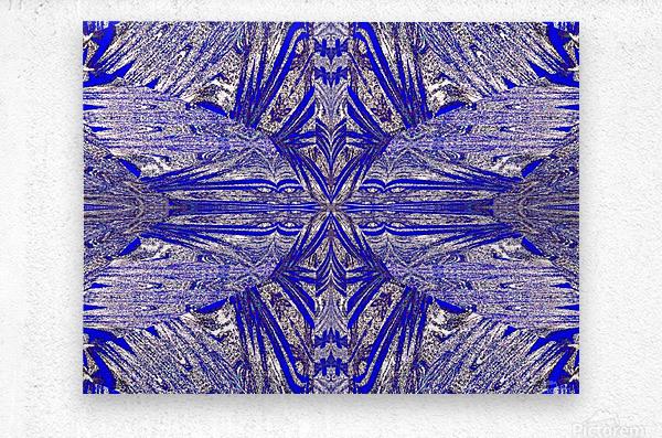 The Butterfly Inside  Metal print