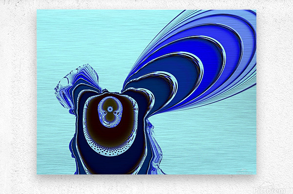 Fly_Fly_Fly  Metal print