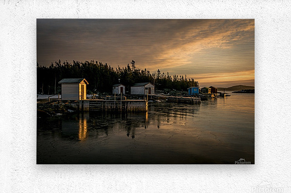 Little Burnt Bay  Metal print