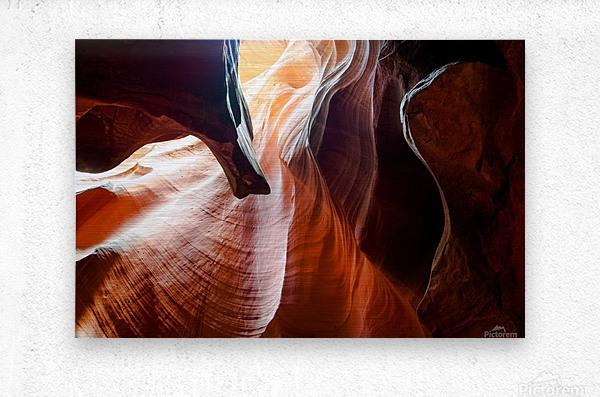 Upper Antelope Canyon 3  Metal print