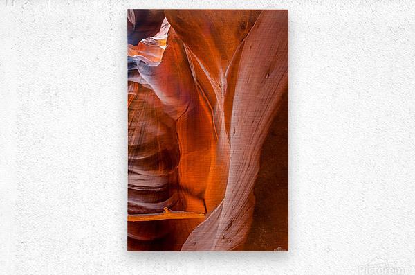 Upper Antelope Canyon 4  Metal print