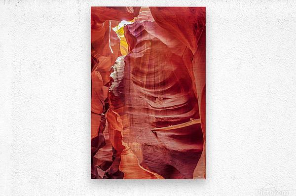 Upper Antelope Canyon 7  Metal print