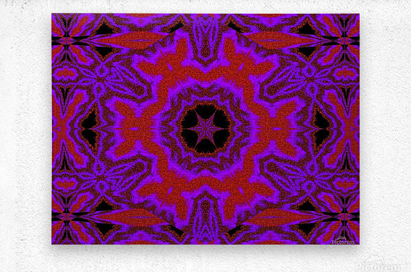Purple Wind Flower 3  Metal print