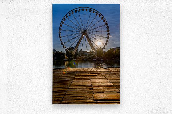_TEL5814 Edit  Metal print