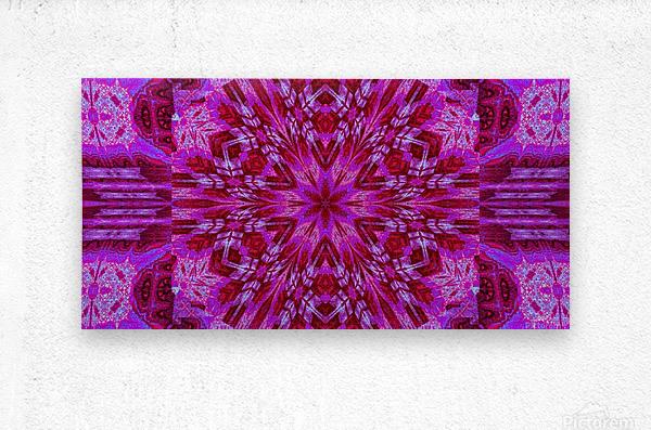 Wildflower in Pink Bloom  Metal print