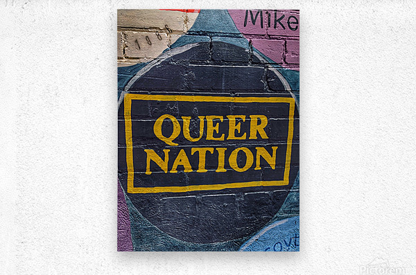 Queer Nation - Toronto  Metal print