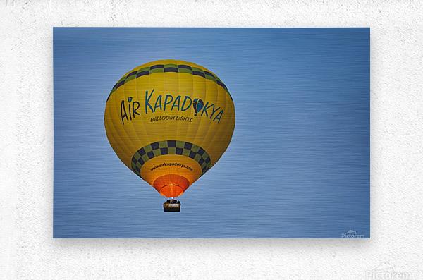 Travel Turkey Cappadocia 2019 8  Metal print