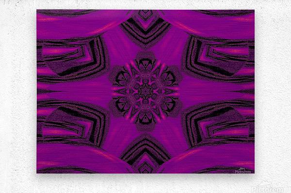 Purple Desert Song 37  Metal print