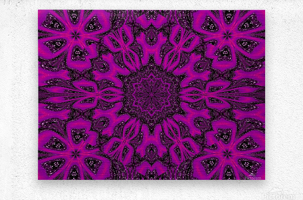 Purple Desert Song 38  Metal print