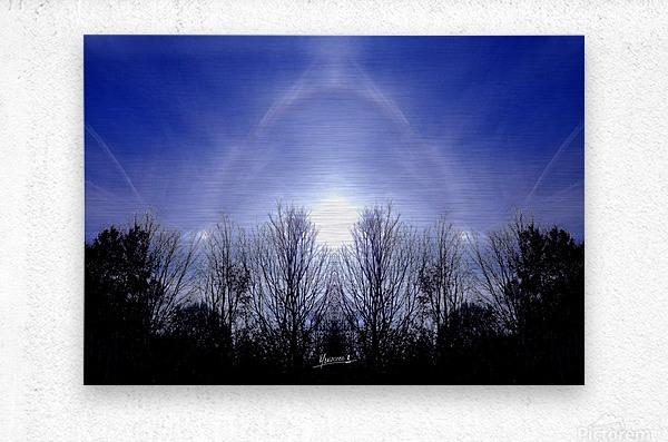 nube 55  Metal print
